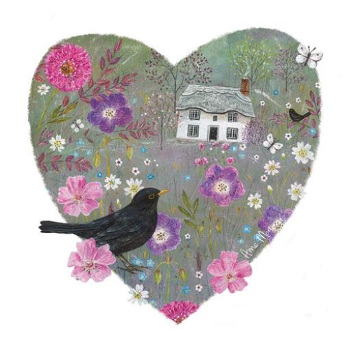 Country Lanes Card - Blackbird Thatch