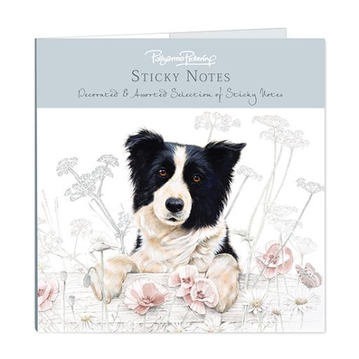 Pollyanna Pickering Stationery - Sticky Notes Selection (Border Collie)