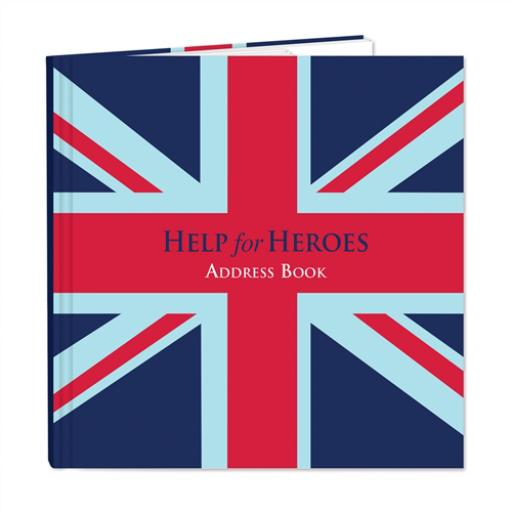 Help For Heroes Stationery - Square Address Book