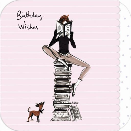 Izak Card - Bookworm