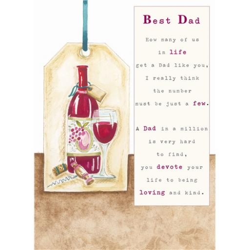 Sentiments Card - Best Dad