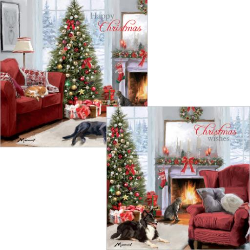 Luxury Christmas Card Pack - Christmas Scenes