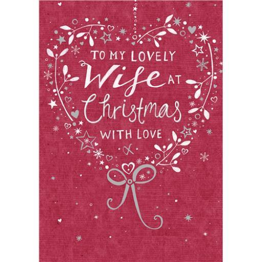 Christmas Card (Single) - Text (Wife)