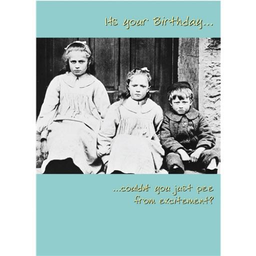 What A Hoot Card - Three Kids