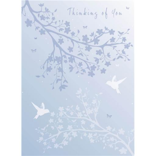 Thinking Of You Card - Tree