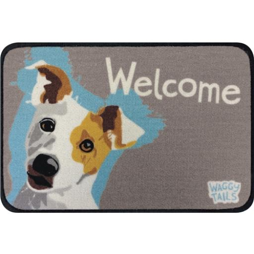 Floormat - Waggy Tails - Jack Russell Terrier