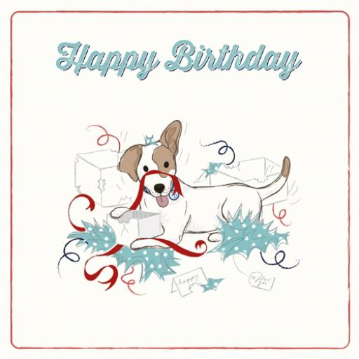 Tommy Doggy Card - Birthday Presents