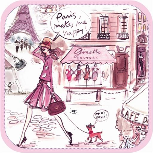 Izak Card - Happy Paris
