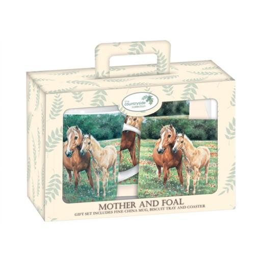 Tea Time Gift Set - Mother & Foal