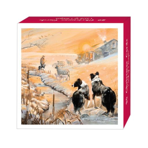 Assorted Christmas Cards - Snowy Landscapes