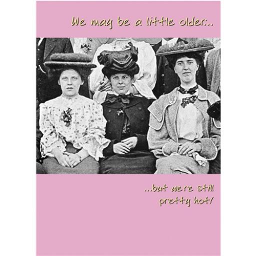 What A Hoot Card - Three Dames
