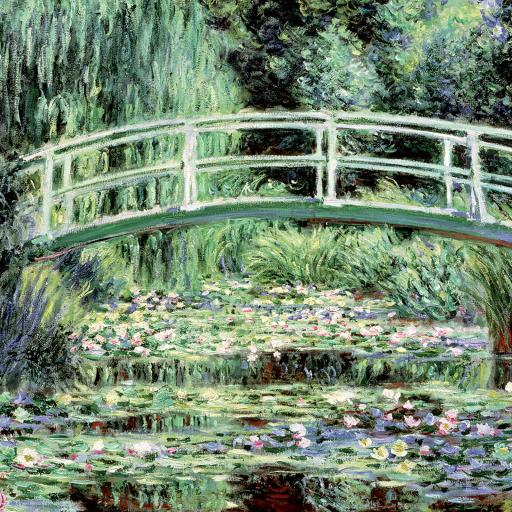 Quayside Gallery Card Collection - Giverney Bridge