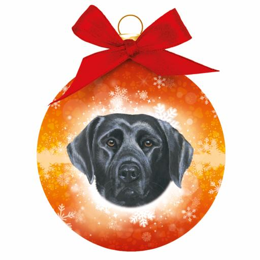 Baubles - Black Labrador