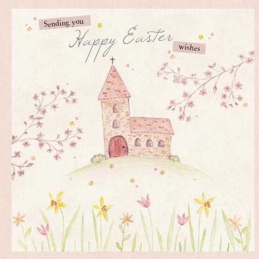 Easter Card Pack - Easter Church