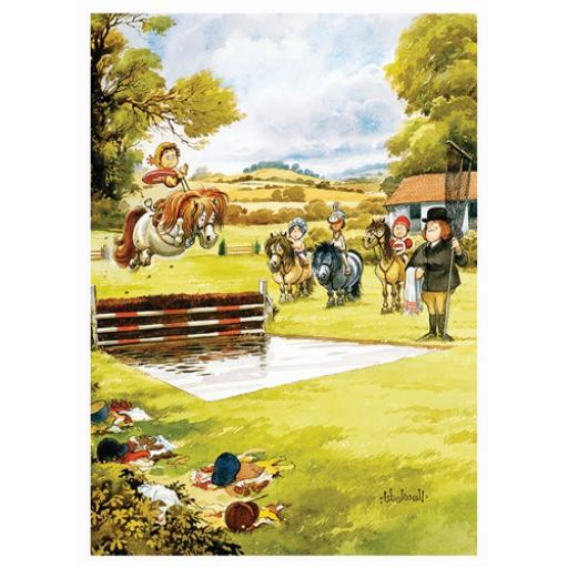 Thelwell Card - Waterjump
