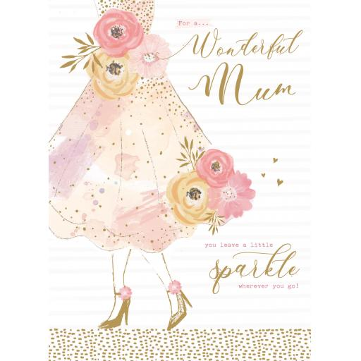 Mother's Day Card - Dress