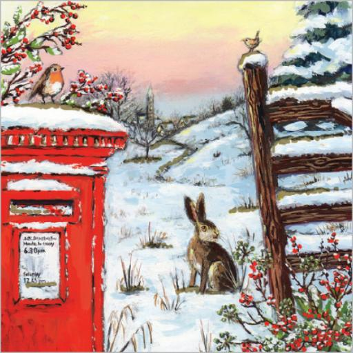 Charity Christmas Card Pack - Christmas Countryside