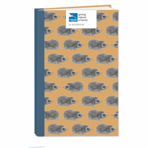 RSPB - A5 Hardcover Notebook (Hedgehog)