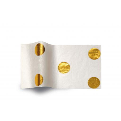 Tissue Pack - Gold Hot Spots