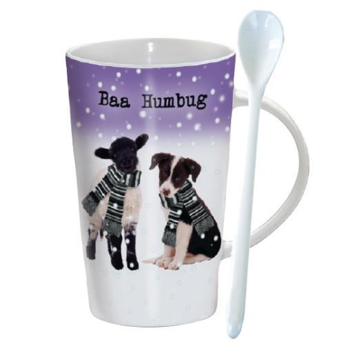 Chocolatte Mugs - Baa Humbug