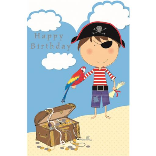 Sugar & Mice Card - Pirate