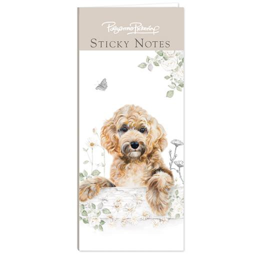 Pollyanna Pickering Stationery - Mini Sticky Notes Selection (Cockapoo)