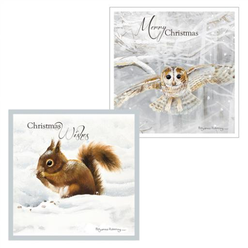 Luxury Christmas Card Pack - Snow Is Falling