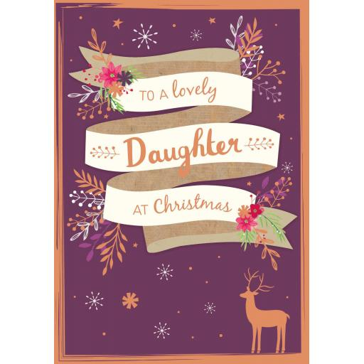 Christmas Card (Single) - Daughter
