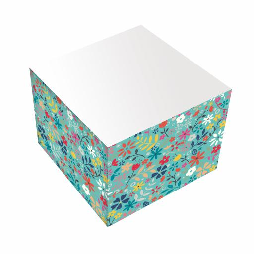 Bohemia Stationery - Jotter Block - Ditsy Floral