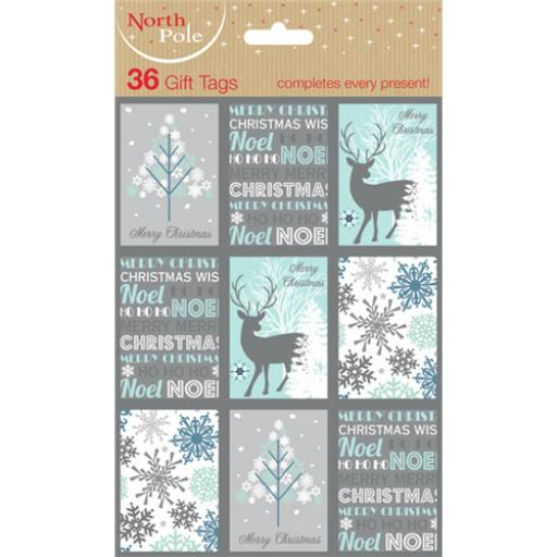 Christmas Gift Tags - Contemporary (36)