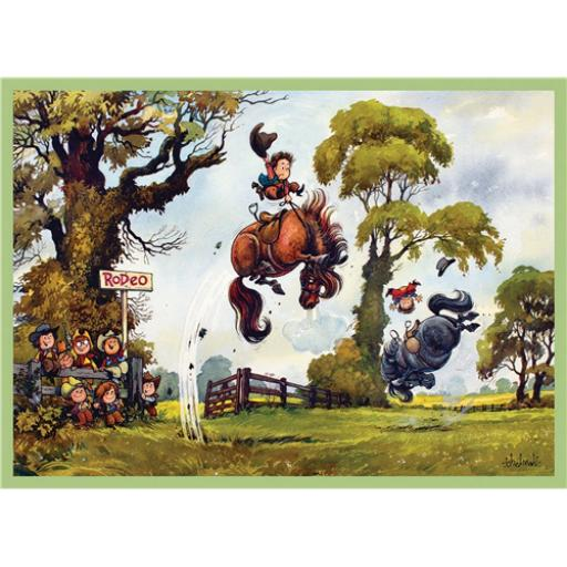 Thelwell Card - Rodeo