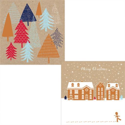 Help For Heroes Christmas Card Pack (Luxury) - Winter Scenes
