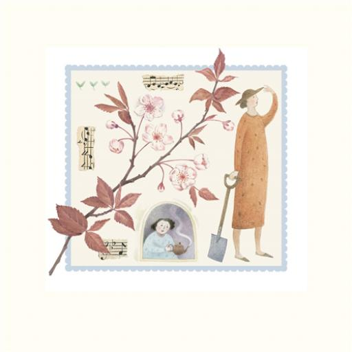 Garden Days Card - Fancy A Cuppa