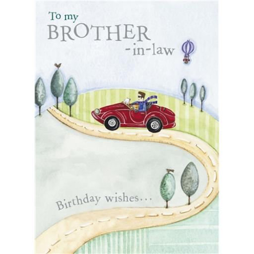 Family Circle Card - The Open Road (Brother In Law)