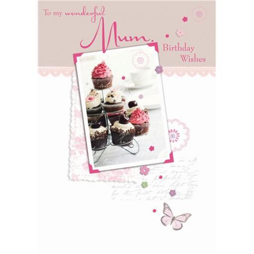Family Circle Card - Mum