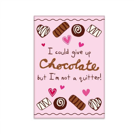 Fridge Magnet - Chocolate