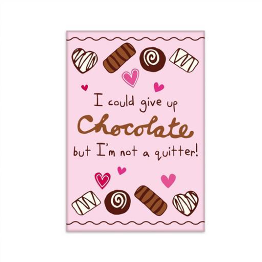 Fridge Magnet - Chocolate