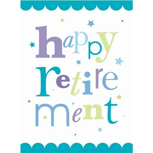 Retirement Card - Happy Retirement