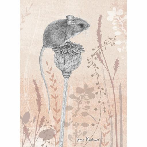 RSPB Card - Petals & Perches - Magnificent Mouse