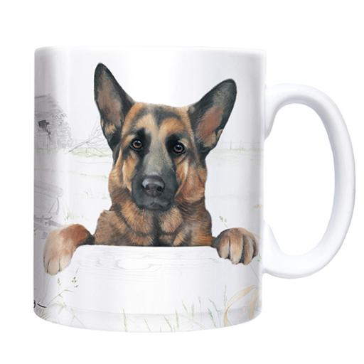 Straight Sided Mug - German Shepherd