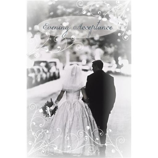 Wedding Card - Bride & Groom (Accept Card)