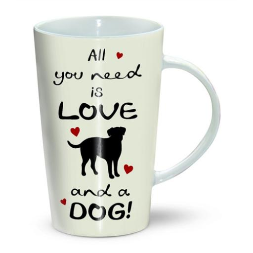 Latte Mug - Dog All You Need Is Love