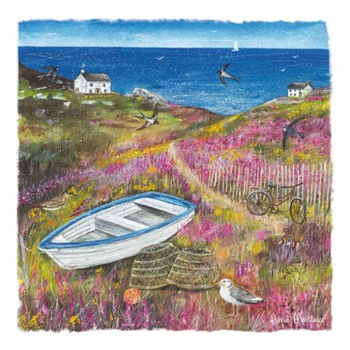 Country Lanes Card - Sea View Cottage