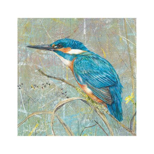 Enchanted Wildlife Card - Kingfisher