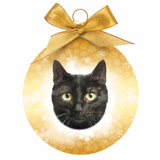 Baubles - Black Cat