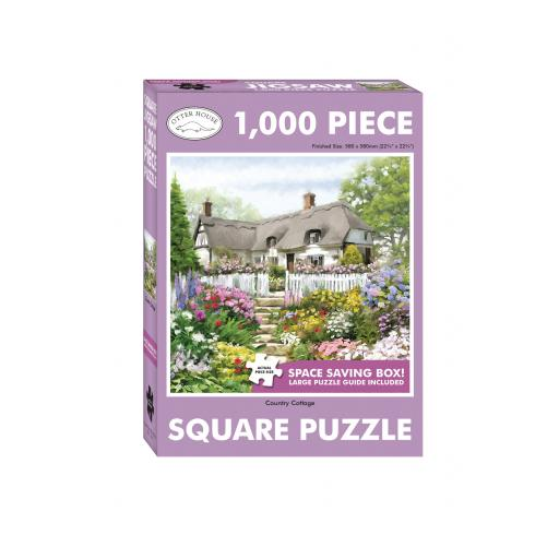 Square Jigsaw - Country Cottage