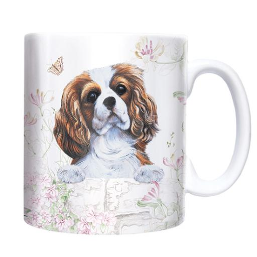 Straight Sided Mug - Cavalier King Charles