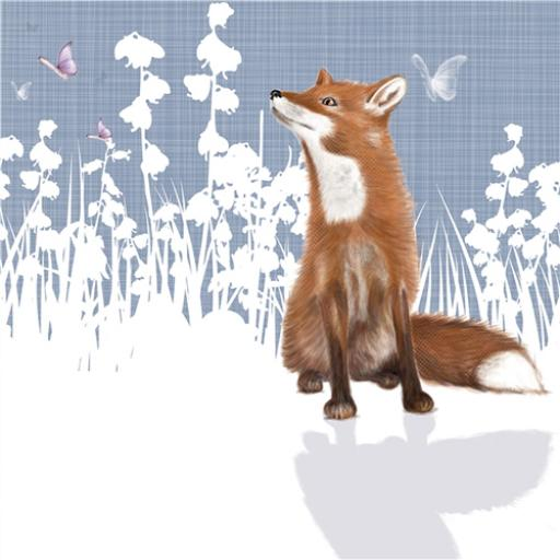 RSPB Nature Trail Card - Fox