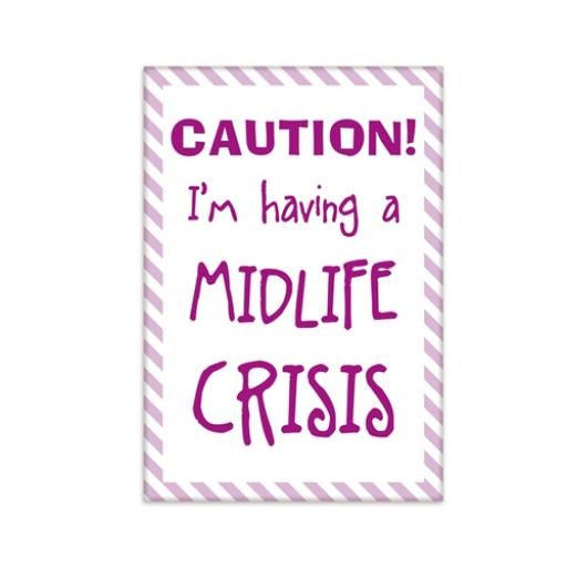 Fridge Magnet - Midlife Crisis