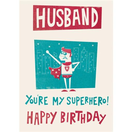 Family Circle Card - Husband